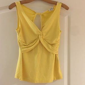 Yellow cache blouse